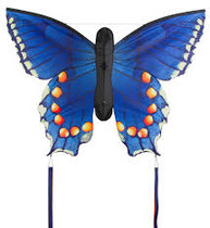 HQ Butterfly Kite Swallowtail Blue Large