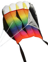 "HQ Parafoil ""Easy"" Rainbow Single Line Kite"