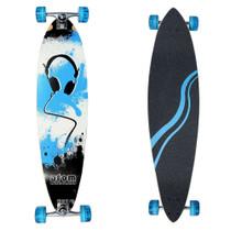 Atom Lowrider Longboard | Blue Headphones | 39 inch