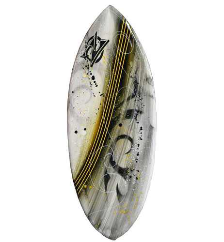 Zap Medium Pro Skimboard with Art
