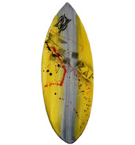 Zap Large Pro Skimboard with Art