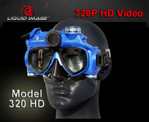 Liquid Image 320 Scuba HighDef Digital Camera Dive Mask Free 4GB SD Card