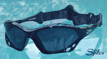 SeaSpecs Jet Black Sailing Sunglasses