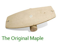 The Original Maple Lotus Balance Board