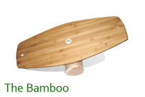 The Bamboo Lotus Balance Board