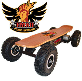Off Road Electric Skateboard by Emad
