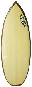 Triple X Bamboo Wakesurf Board Nitro Pro X