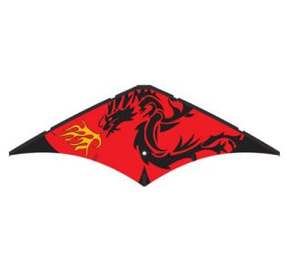 HQ Quickstep II Dragon Dual Line Stunt Kite