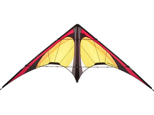 HQ Atomic Lemon Dual Line Stunt Kite