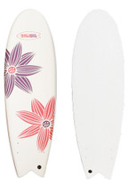 SEA PETAL Soft Top Fish Surfboard