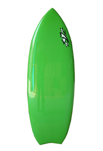 Slayer Pro X Wakesurf Board by Triple X Green Skillet