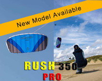 2010 HQ Rush III 350 PRO Trainer Kite *Free Bonus DVD!