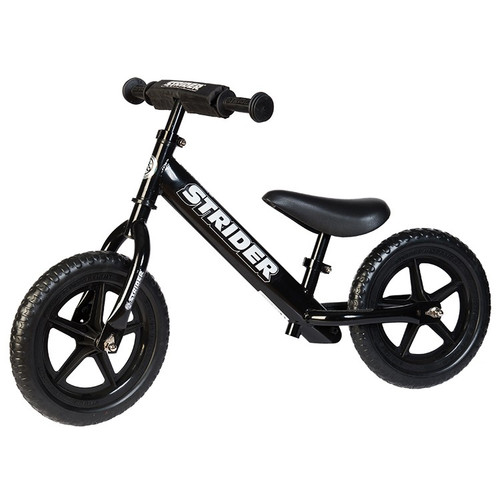 Strider 12 Sport Balance Bike Black