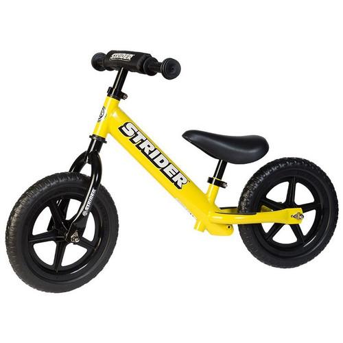 Strider 12 Sport Balance Bike Yellow