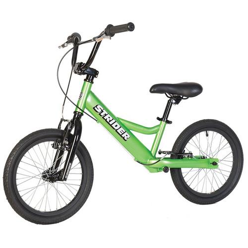Strider 16 Sport Balance Bike l Green