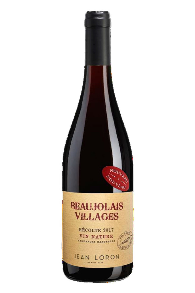 Beaujolais Nouveau Villages Natural 2017