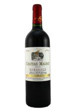 95% Merlot, 5% Cabernet Sauvignon, Bordeaux Rouge.