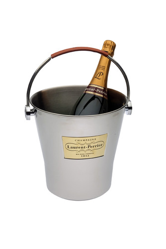 Magnum Ice Bucket with Leather Handle