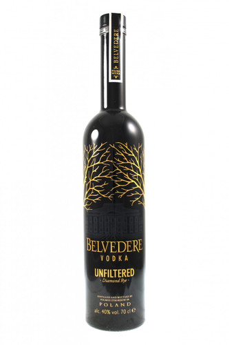 Belvedere Vodka Unfiltered Diamond Rye.