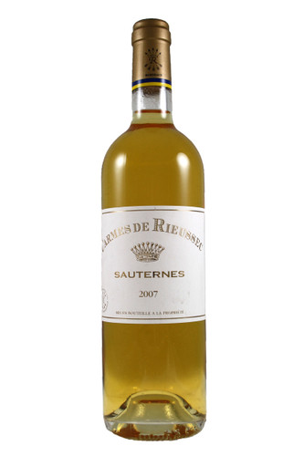 Carmes De Rieussec Sauternes 2007