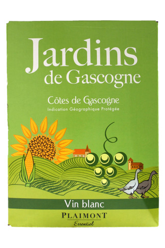 Jardins de Gascogne Vin Blanc 5 ltr