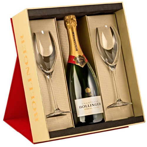 Bollinger gift set, perfect for the festive season.