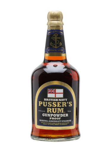 Pussers Rum Gunpowder Proof