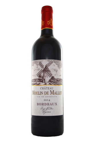Chateau Moulin de Mallet 2014