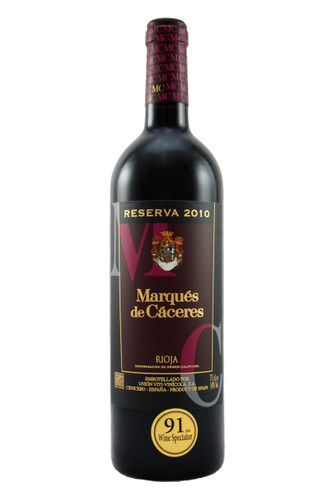 Marques de Caceres Reserva Rioja 2010