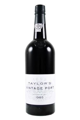 Taylors 1985 Vintage Port in an Oak Gift Box