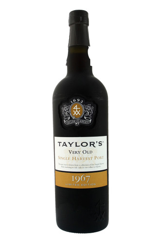 Taylor's Very Old Single Harvest Port 1967