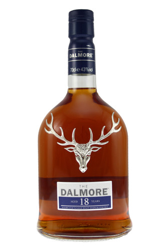 Dalmore's stunning 18 year old Highland malt is rich, fruity and spicy.