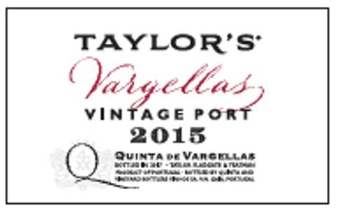Taylors Quinta de Vargellas 2015 Halfs