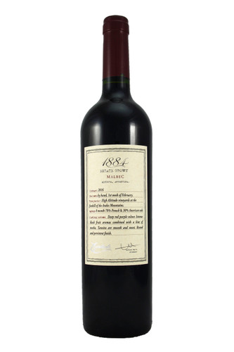 Intense red black fruit aromas combined with a hint of Mocha