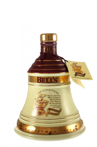 Bells Christmas Decanter 1997