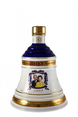 Bells Golden Wedding Anniversary Decanter
