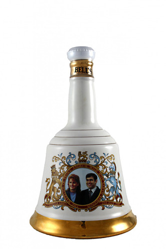 Bells Whisky Decanter Prince Andrew with Miss Sarah Ferguson