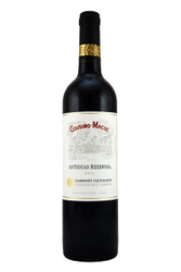100% Cabernet Sauvignon matured in French oak barrels for 12 months.