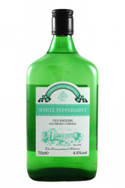 Phillips White Peppermint Alcoholic Cordial Phillips From