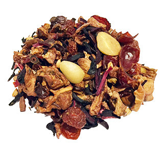 Vanilla Almond Fruit Tisane