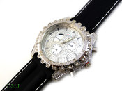 "White ""Crown Bezel"" Watch with White Pearl detailed face and silicone band (Clear-Coated Bezel)"