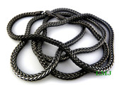 "36"" Black Tone Franco Chain - 6mm"