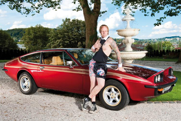 Classic Funny Car: Classic Cars And Funny Underwear!