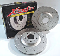 Xtremestop Brake Rotor for Chevrolet Silverado 1500 2010-07.