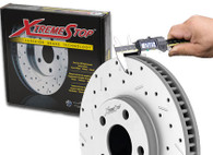 XtremeStop Cross Drilled and Slotted High Performance Rotors