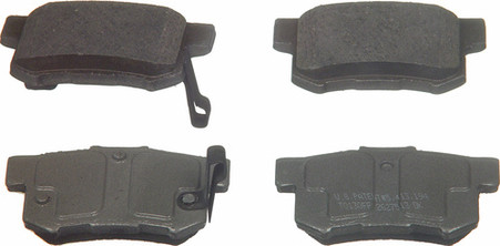 Brake Pads For Acura CSX From Wagner Brake Products QC 537