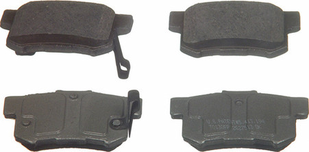 Acura TSX Brake Pads From Wagner Brake Products QC 537