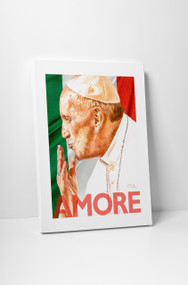 Perry Milou Artwork- Pope Francis Amore