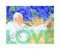 """Perry Milou """"Pope Francis LOVE"""" 22"""" x 17"""" museum-quality archival print. Signed and numbered by the artist."""