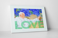 Perry Milou Artwork- Pope Francis LOVE